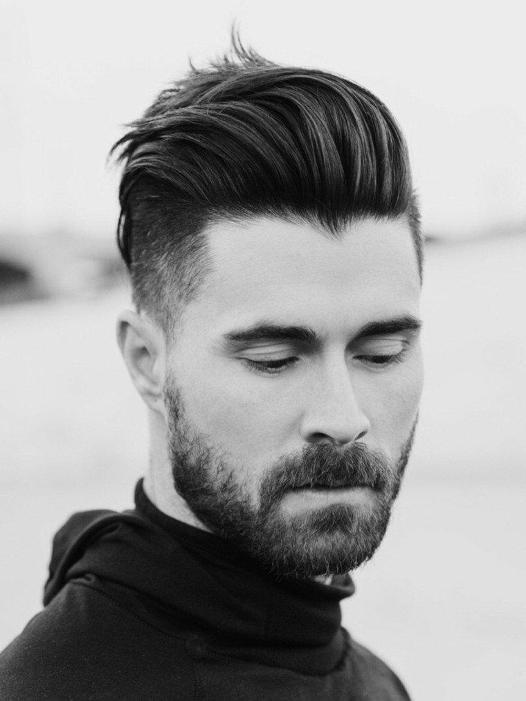 peinado degradado de hombre