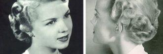 Peinados años 40