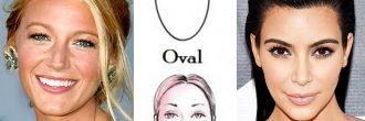 Peinados cara ovalada