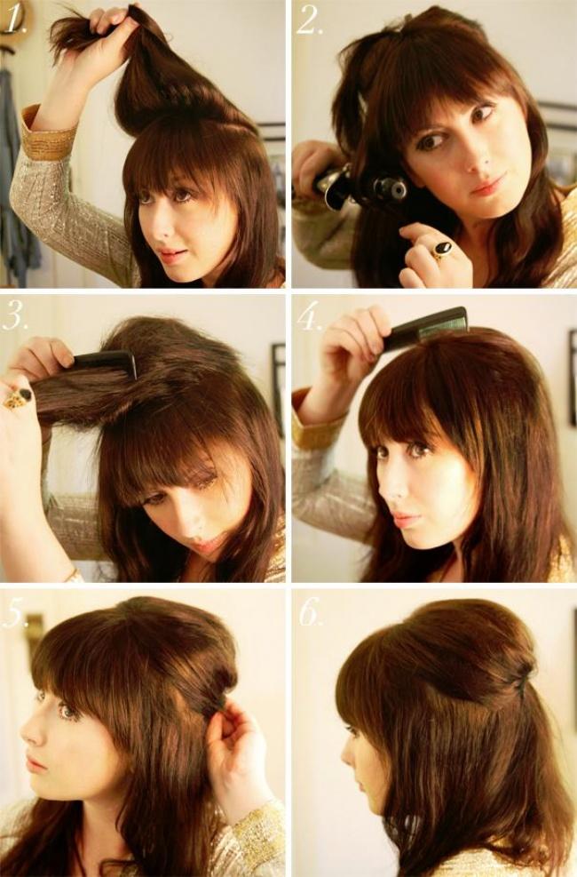 peinado japones paso a paso