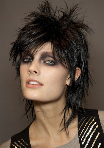 peinado punk sencillo
