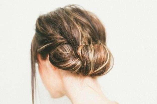 peinado recogido para madrina