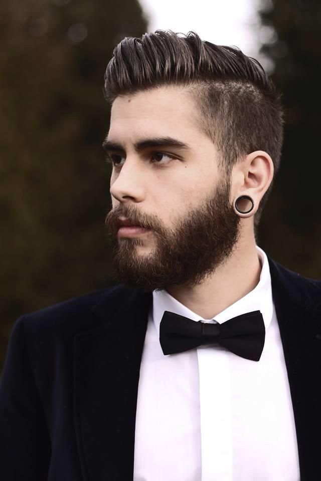 peinado vintage moderno para hombre