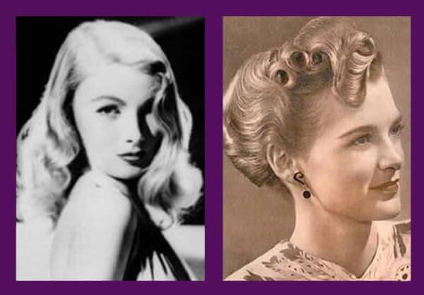 peinados años treinta