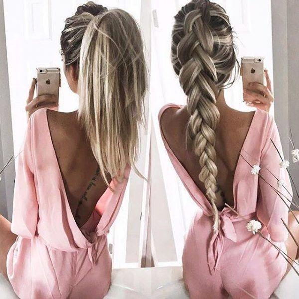 peinado con extensiones de clip