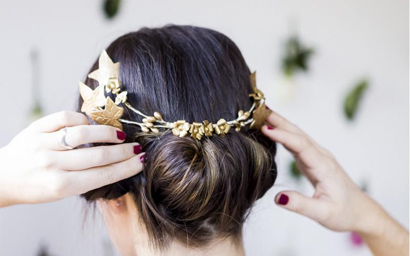 peinados con tocados para bodas