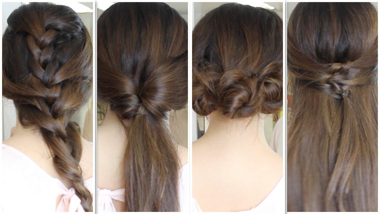 peinados faciles de mujer