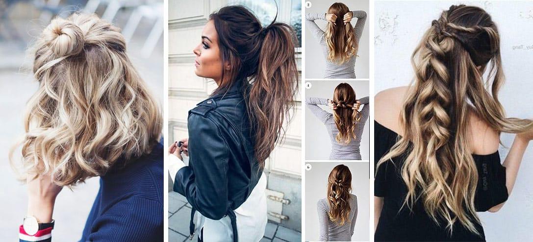 peinados faciles para mujer