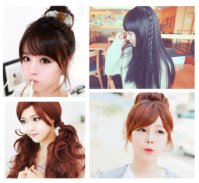 lindos peinados kawaii