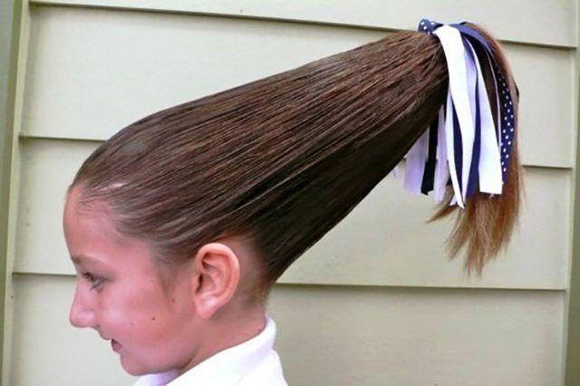 peinado raro de coleta