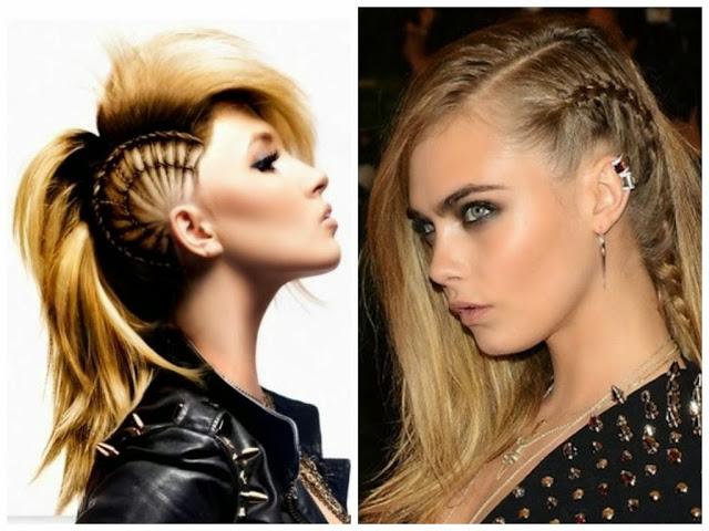 peinados rockeros