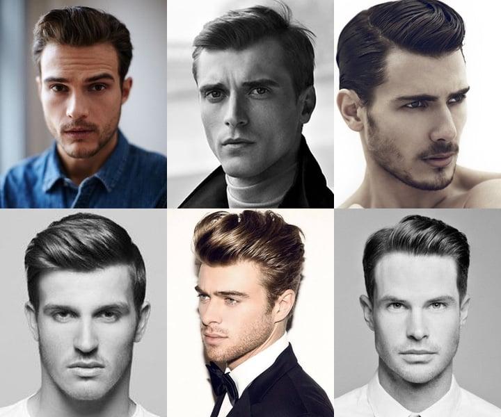 peinado vintage de hombre