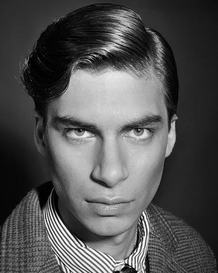 peinado de hombre en los años cuarenta