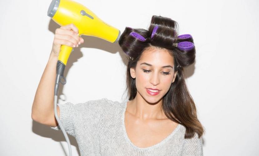 rulos para el cabello