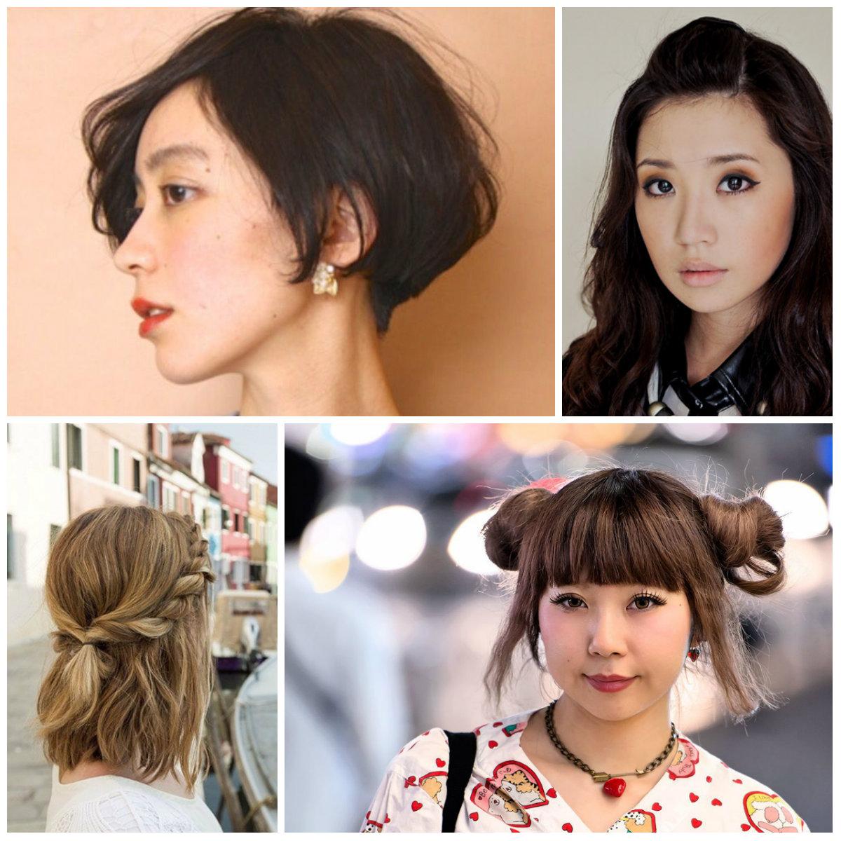 varios peinados japoneses