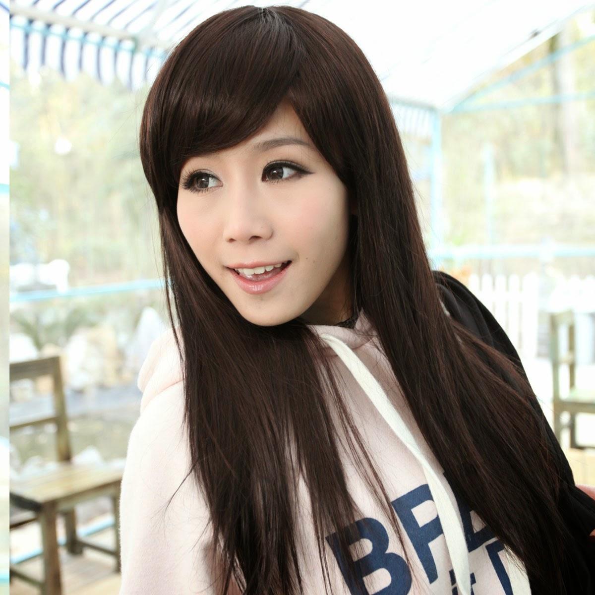 mujeres chinas con cabello liso