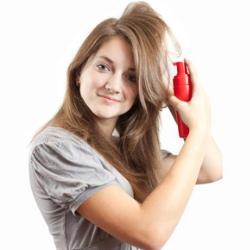 musse para el cabello fino