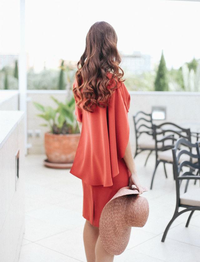 peinado de pamelas con cabello suelto