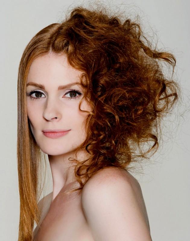 peinados sencillo con tenacillas