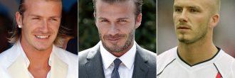 David Beckham peinados