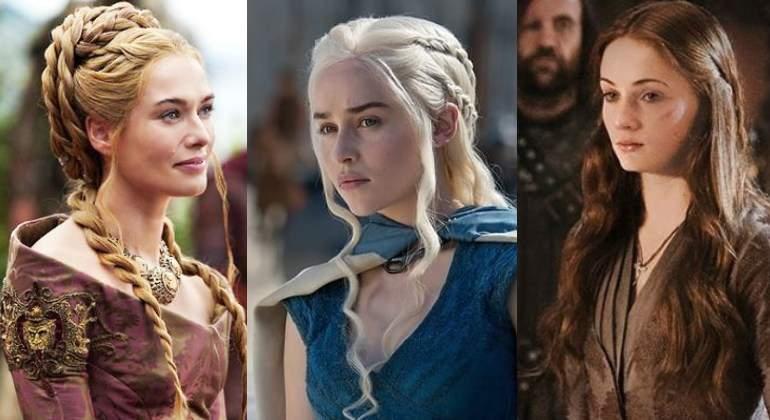peinados de juegos de tronos