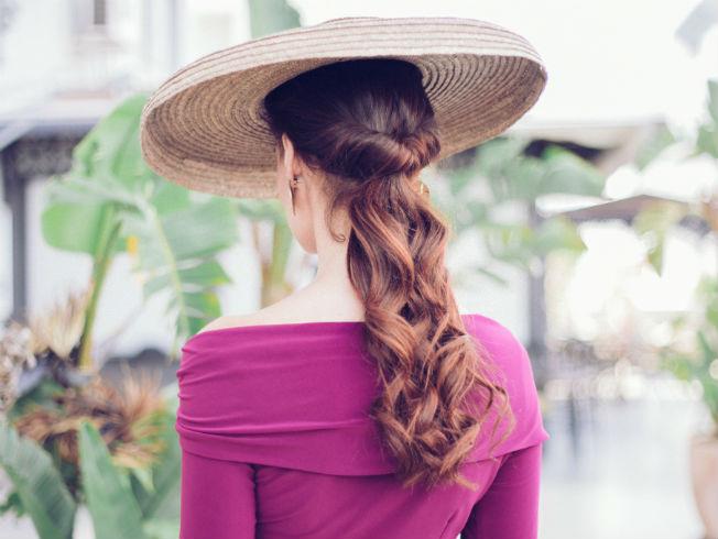 peinado para pamela de coleta